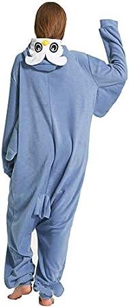 Bear, S Ducomi Kigurumi Pyjamas Lustige Kost/üme Pl/üsch Halloween und Karneval Frau Mann Pyjama Anzug Einhorn Unisex Pyjamas Adult Cosplay Tier Kost/üm Panda Koala