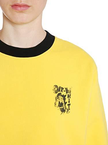 Coton Jaune En Owba026e180030456010 shirt Pour Cassé Sweat Femme wxpaqEp