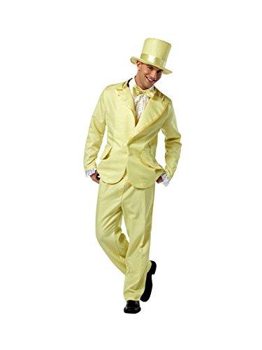 Rasta Imposta 70's Funky Yellow Tuxedo (Funky Tuxedo Adult Men Costume)