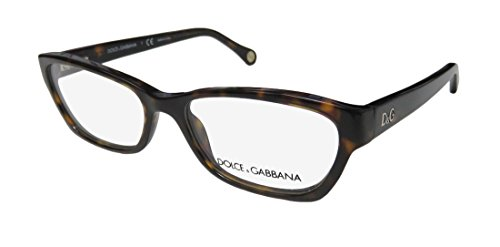 Dolce Gabbana 1216 Womens/Ladies Cat Eye Full-rim Flexible Hinges Eyeglasses/Eyeglass Frame (52-16-135, - Gabbana Eyeglasses Dolce And Cat Eye