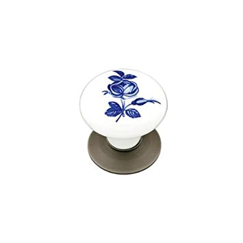 Emtek 86030US15 Bedford Porcelain 1.75-Inch Cab Knob