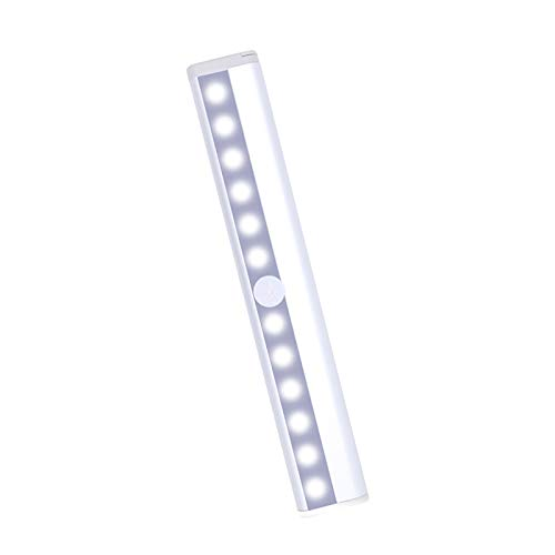 clacce Unterbauleuchte Küche -LED Küchenlampe Magnet Schranklicht - LED Bewegungsmelder Schrankleuchte für Kleider, Küche, Flur und Notfälle Warm/weiß
