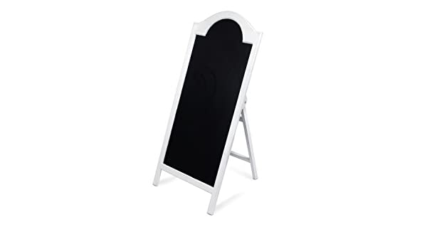 Pizarra Blanca Decorativa. Mueble Auxiliar. 120 x 52 x 2.5 cm ...