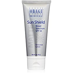 Obagi Sun Shield Matte Broad Spectrum SPF 50 Sunscreen, 3 oz.