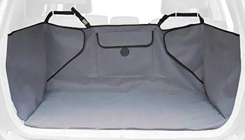 K H Pet Products Quilted Cargo Pet Cover, Gray, Standard