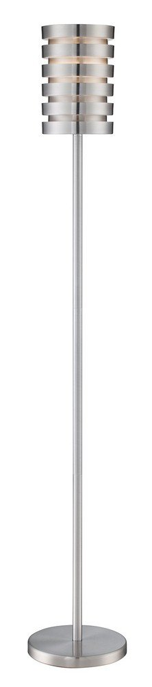 Lite Source Tendrill II Aluminum Slat Floor Lamp