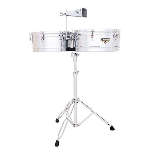 Latin Percussion LP Matador 14'' & 15'' Timbales - Chrome by Latin Percussion