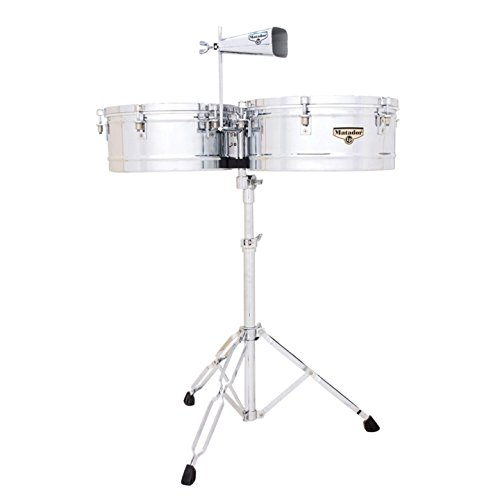 Latin Percussion LP Matador 14'' & 15'' Timbales - Chrome