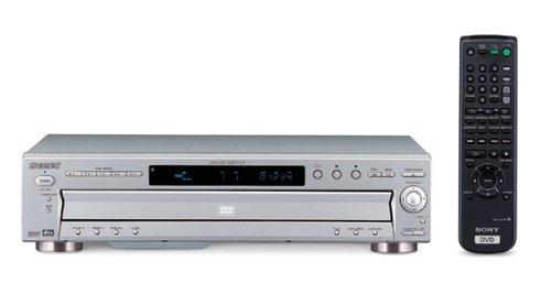 Sony 5 Disc Dvd Player - Sony DVP-NC600 - CD/DVD Changer - Silver
