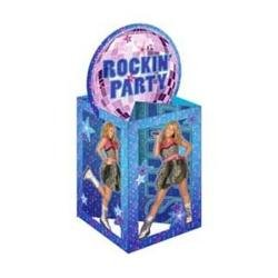 Hannah Montana 'Rock the Stage' Centerpiece (1ct) (Halloween Hannah Montana Games)