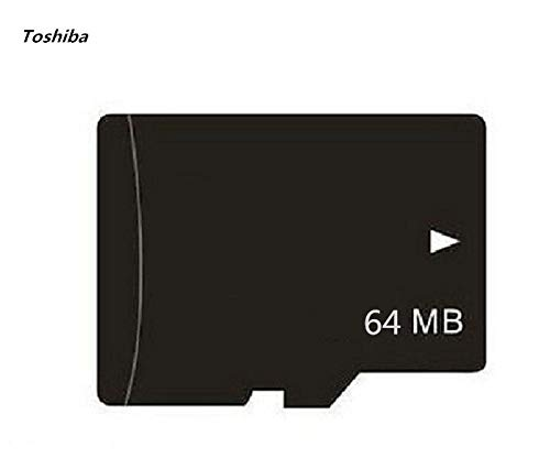 64MB MicroSD Flash Memory Card TF Card +Adapter (1pcs) (Formatting Micro Sd Card For Cell Phone)