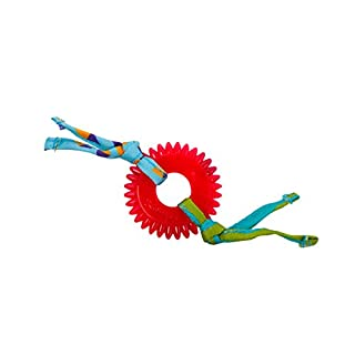 Petstages Dental Kitty Chew Wheel Chew Toy for Cat Dental Health & Hygiene Featuring Fabric Streamers & Durable Material