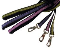 "1/2"" Silverfoot Dog Lead - Coastline Pink - 5ft"