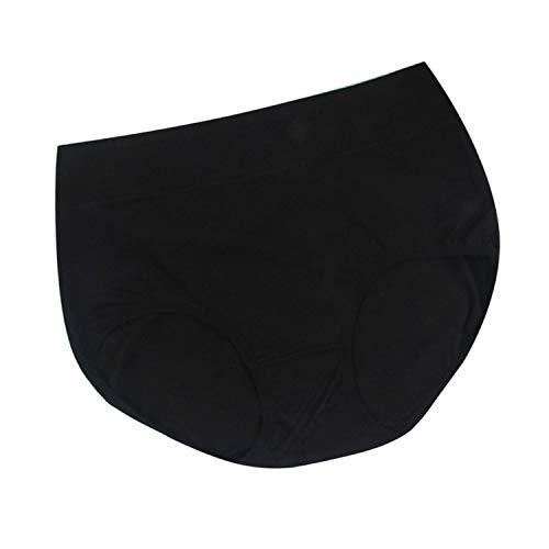 Women's Briefs Cool Panties Pure Color Classic High Waist Underwear Girl Underpants ()