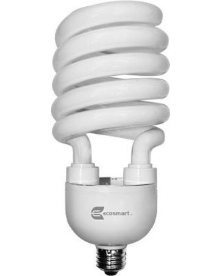 (EcoSmart 300W Equivalent Soft White (2700K) Spiral CFL Light Bulb)