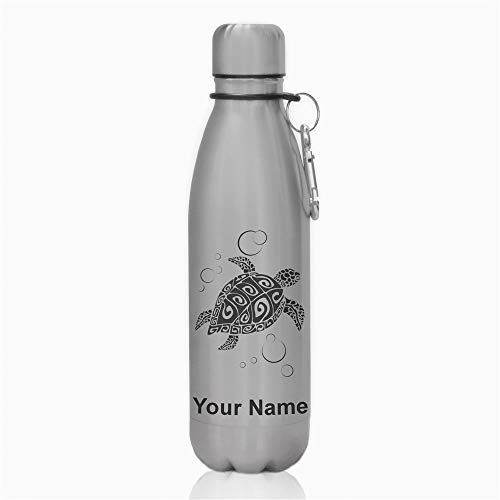 - Water Bottle - Hawaiian Sea Turtle - Personalized Engraving Included