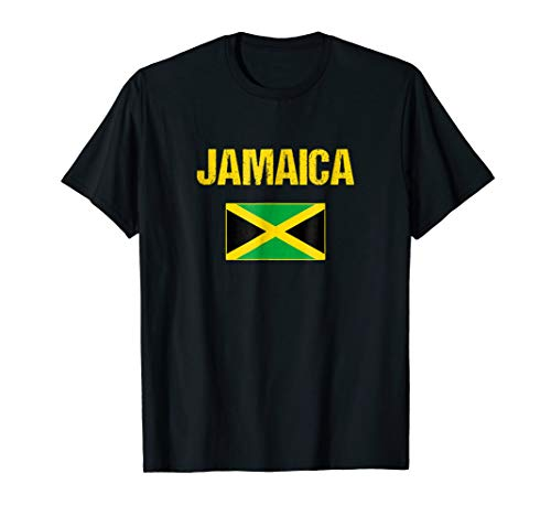 (Jamaica T-shirt Jamaican Flag Tee - For Men/Women/Youth/Kids)