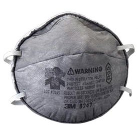 3M R95 Disposable Particulate Respirators, 8247, 20/Bx