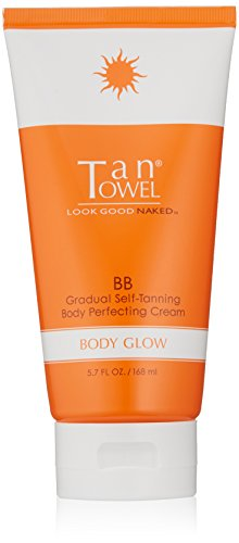 Tan Towel Body Glow, 5.7 Fl Oz (Tan Body Towels)