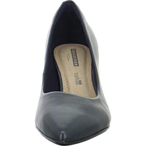 Linvale navy Bleu Femme Escarpins Clarks Jerica Leather dRxwCd