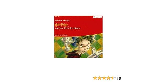 Harry Potter Und Der Stein Der Weisen Philosopher S Stone In German Audio Book Harry Potter Volume One Jk Rowling Rufus Beck 9783895847011 Amazon Com Books