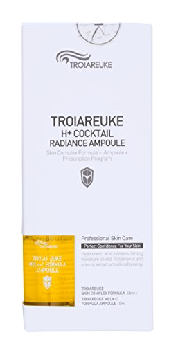 TROIAREUKE Skin Complex Formula Toner + Ampoule 2.36 Ounce, Yellow - Brightening, Whitening Skincare Treatment Facial Spray for All Skin ()