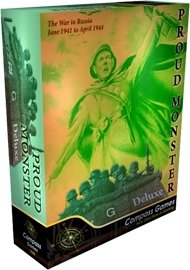 Compass: Proud Monster Deluxe, the War in Russia June 1941-April 1944, 2nd ed.