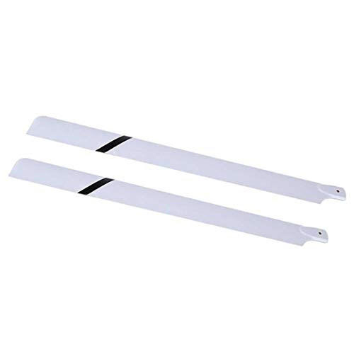 FidgetKute Fiberglass 550mm Main Blades for RC 550 Helicopter ED