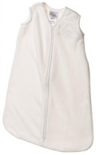 HALO SleepSack Wearable Blanket Micro-Fleece, Cream, Newborn