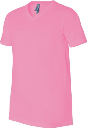Bella - Camiseta - Asimétrico - para hombre Rosa - Rosa neon