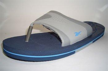 Reebok Honalee Zehentrenner Badelatschen Strandschuhe 164368 Grau-Blau Größe 42 / US 9 / UK 8 / 27 cm