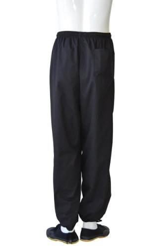 "Jonie Uniforms Tai Chi/kung Fu Pants in Poly/Cotton-Adult Large (Outseam: 44"" Waist: 44""~25"")"