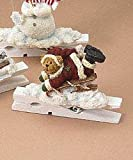 Boyds Bears Sledding Bear Clothespin Ornament Retired 257210