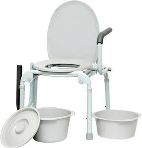 ISG413 - Professional Medical Imports (pmi) Drop Arm Commode 14 x 16 Seat Dimension by Professional Medical Imports (PMI) (Image #1)