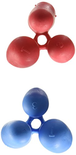Pencil Grip Writing CLAW, Medium, For Right or Left Handed Users, Blue/Red, Bag of 36 (TPG-21236) by The Pencil Grip