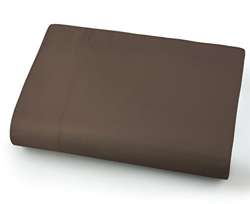 Southshore Fine Linens - Oversized Flat Sheets Extra Large - 132 Inches x 110 Inches (Chocolate Brown)