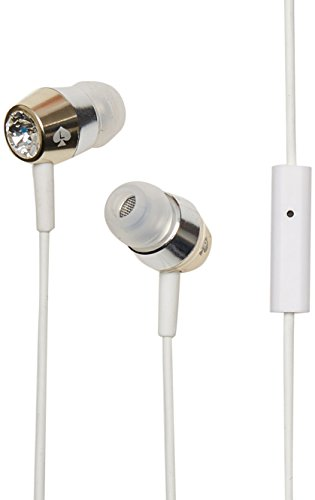 KSNYEB-CGS Earbuds [in-Ear Headphones] with Gold & Silver Trim - Crystal ()