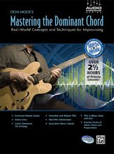 Don Mock's Mastering the Dominant Chord (Book & CD) pdf epub