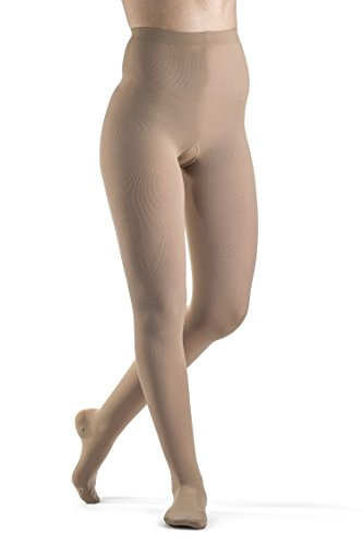 (SIGVARIS Women's Select Comfort 860 Closed-Toe Pantyhose Medical Hose 30-40mmHg)