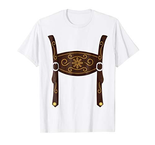 Ledershosen Shirt Cheap Easy Halloween Costume Oktoberfest