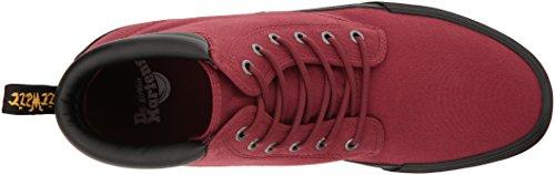 En Lamper Chaussures Graisseuse martens Cuir Hommes Eason Cerise 6 Dr Oeillets Rouge YP0qx0w