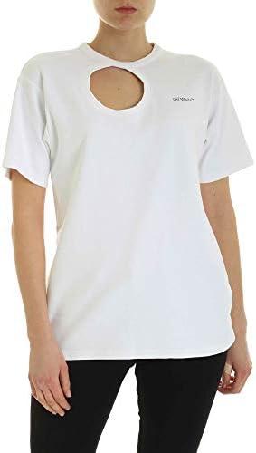 OFF-WHITE Luxury Fashion Damen OWAA078S20JER0010145 Weiss Baumwolle T-Shirt   Frühling Sommer 20