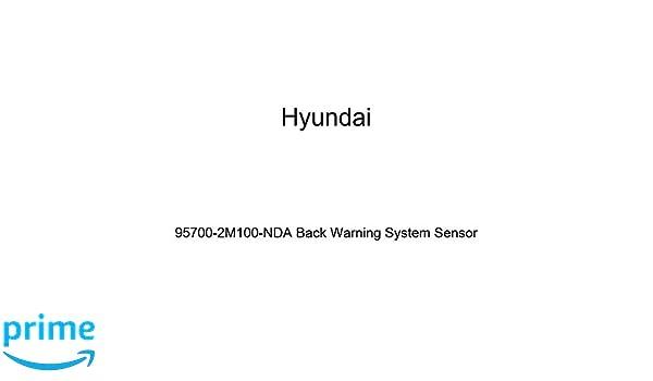 HYUNDAI Genuine 95700-2M100-NDA Back Warning System Sensor