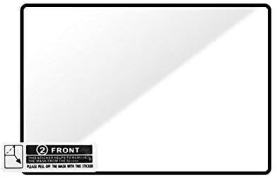 GGS Larmor 5/ème g/én/ération Film de protection d/écran en verre et pare-soleil pour Canon EOS 1D Mark II Transparent
