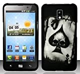 verizon lg revolution - LG Revolution 2 VS920 (Verizon) Spade Skull Design Hard Case Snap On Protector Cover + Free Magic Soil Crystal Gift