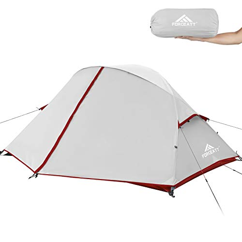 🥇 Forceatt Camping Tent 2-3 Person Portable Backpack Tent