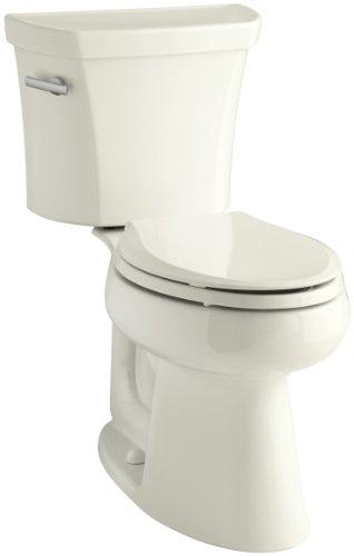 Kohler K-3999-T-96 Highline Comfort Height 1.28 gpf Toilet, Tank Locks, Biscuit