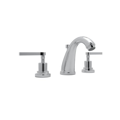 Rohl A1208LMAPC-2 ROHL AVANTI BATH WIDESPREAD LAVATORY FAUCET IN POLISHED CHROME WITH METAL LEVER HANDLES AND POP-UP AVNTI WDSPRD LAV MTL P.CR (Widespread Lav Faucet Polished Brass)