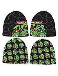 Teenage Mutant Ninja Turtles Reversible Beanie Hat, One