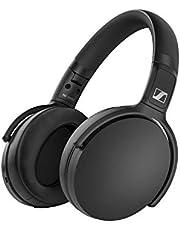 Sennheiser HD 350BT Bluetooth 5.0 Wireless Headphone - 30-hour Battery Life, USB-C Fast Charging, Virtual Assistant Button, Foldable - Black,One Size